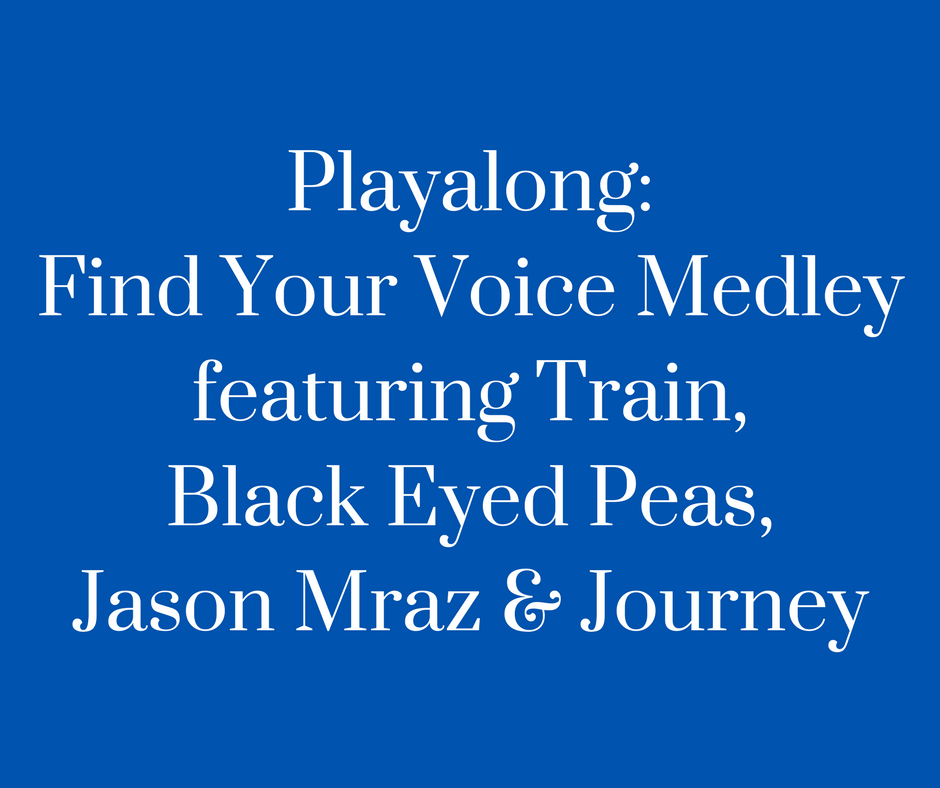 Playalong- FYV Medley