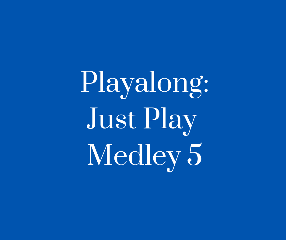 Playalong_Just_Play_Medley_5_Blues
