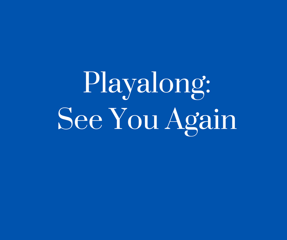 Playalong_See You Again