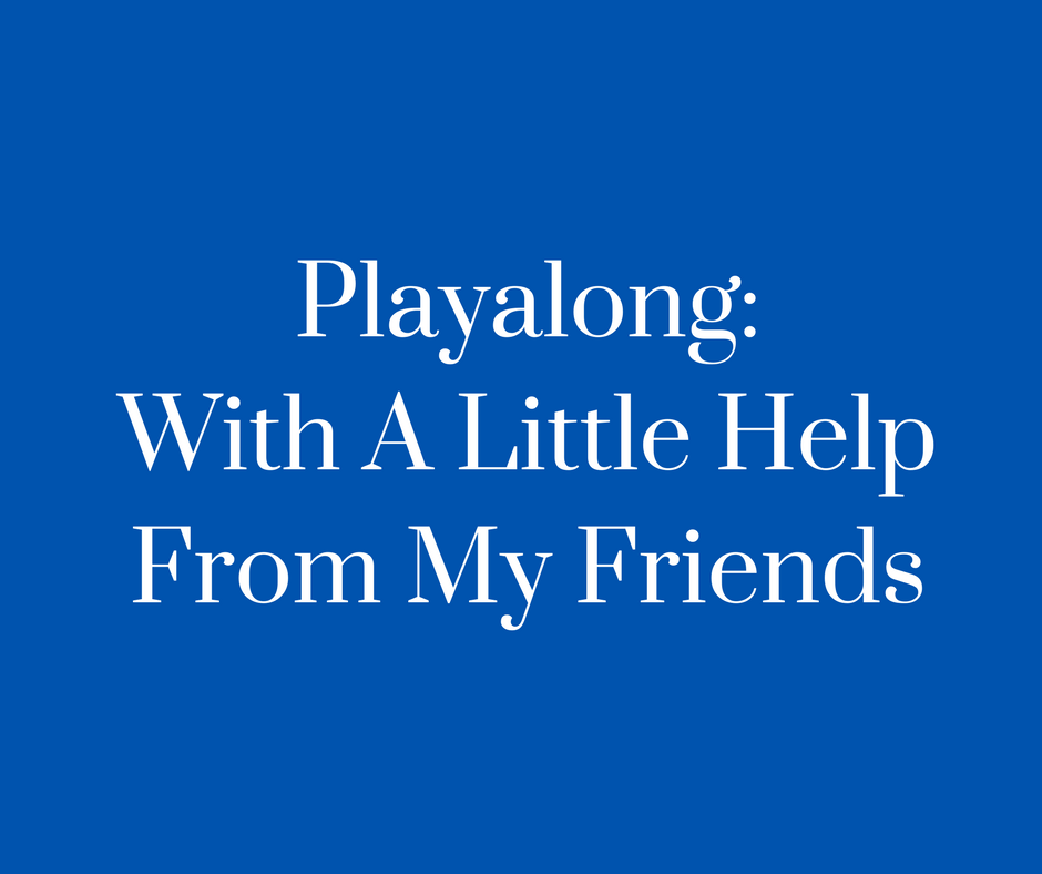 Playalong_With A Little Help