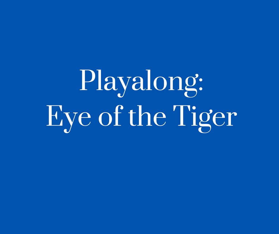 Playalong_Eye of the Tiger