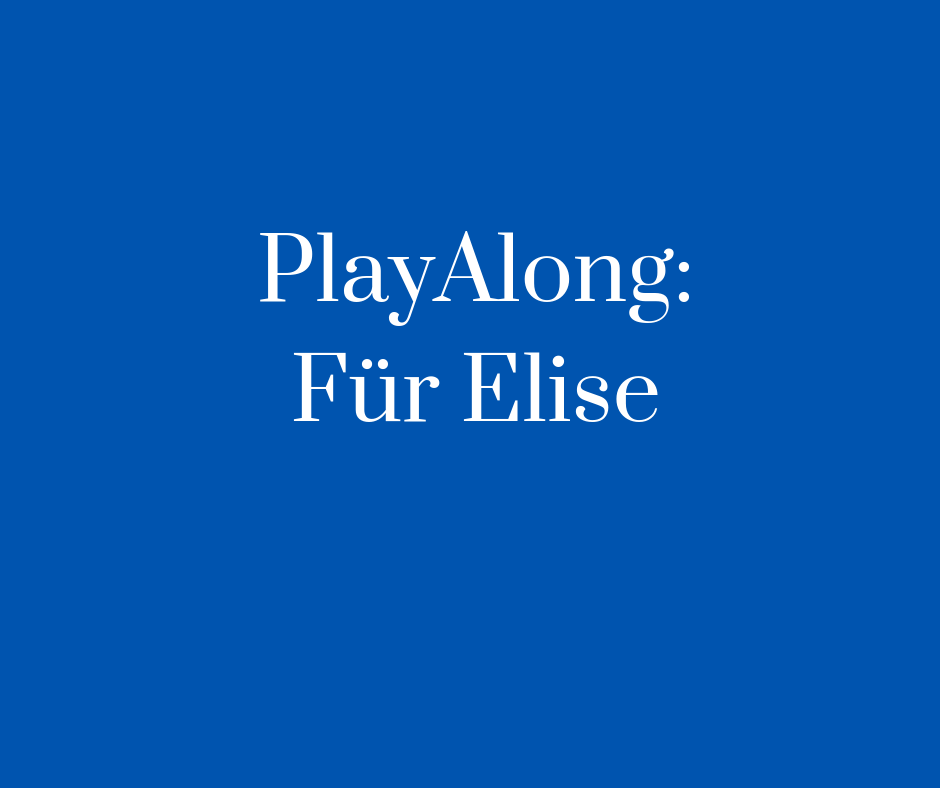 Playalong_ Für Elise Cover