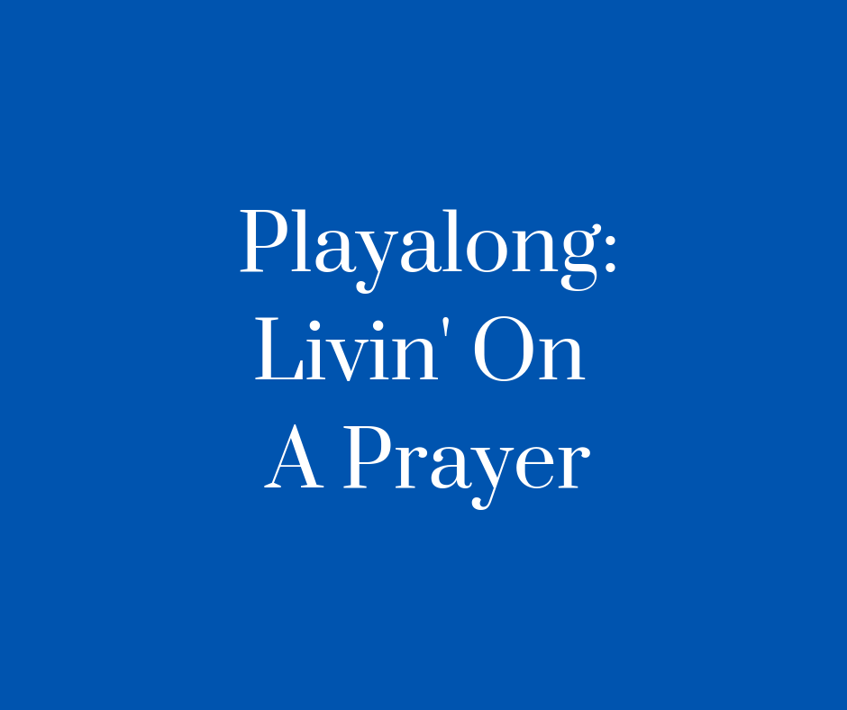 Livin' On A prayer Cover