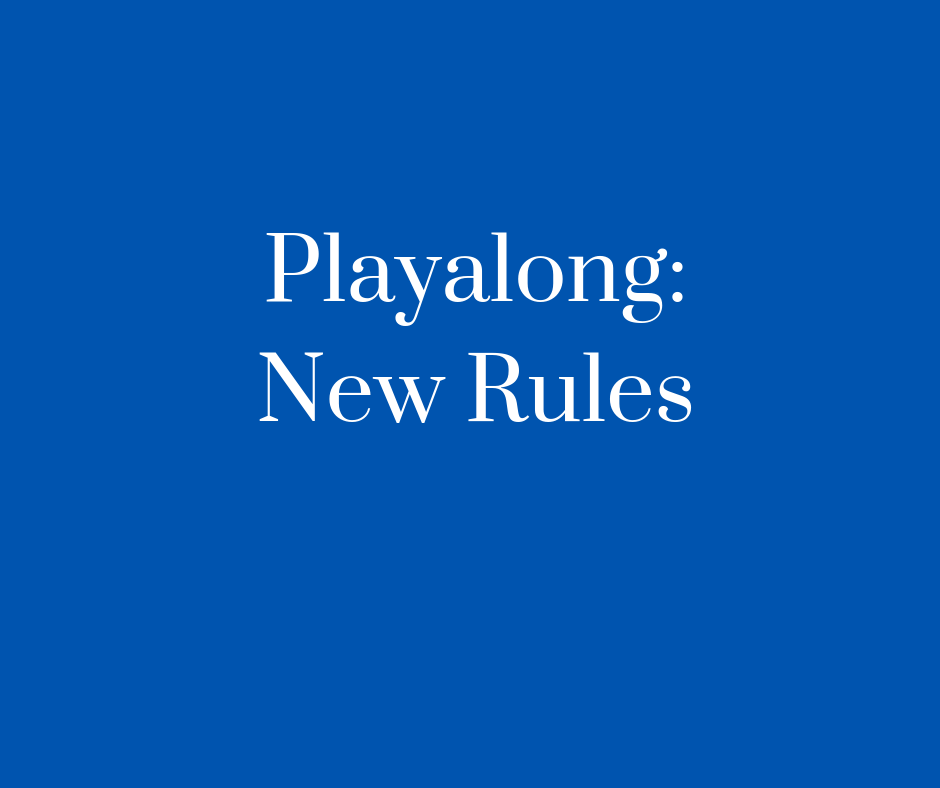 New Rules Resource Cover