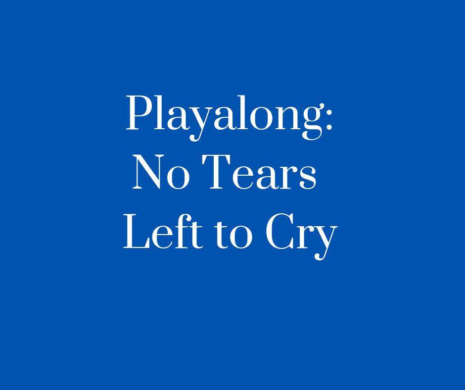 No tears Left To Cry website